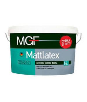 Краска латексная матовая MGF Mattlatex М-100 (7кг)