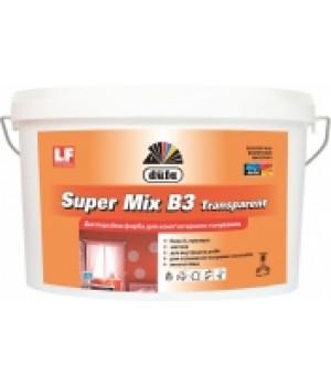 Краска дисперсионная для компьютерной колеровки DUFA Super Mix В3 Transparent (4.5л.)