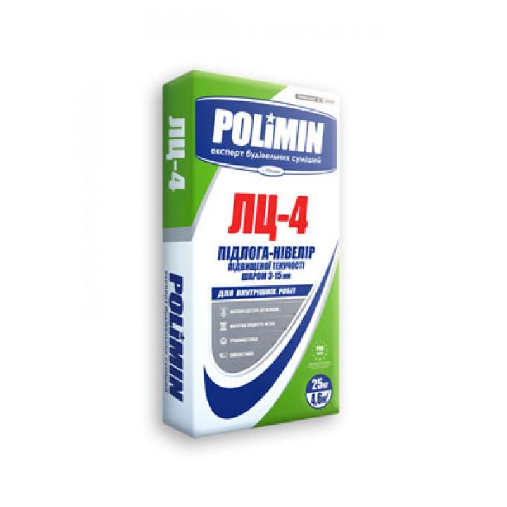 Наливной пол Полимин ЛЦ-4 от 3-15мм, 25кг