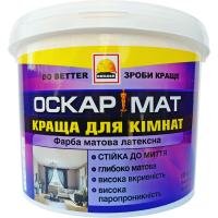 Краска интерьерная матлатекс BUILDER ОСКАРМАТ (1,4 кг)