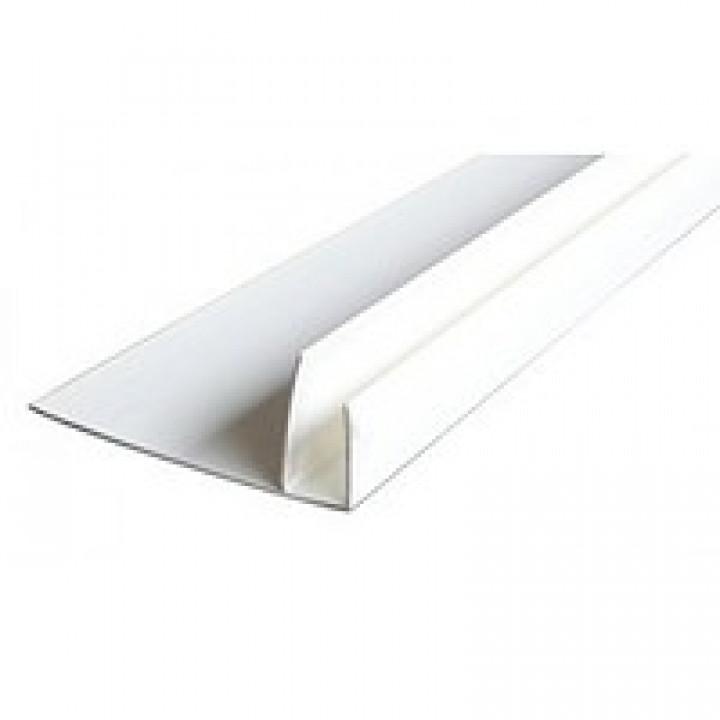 Пластиковая F-полоса старт. белая (6м.)