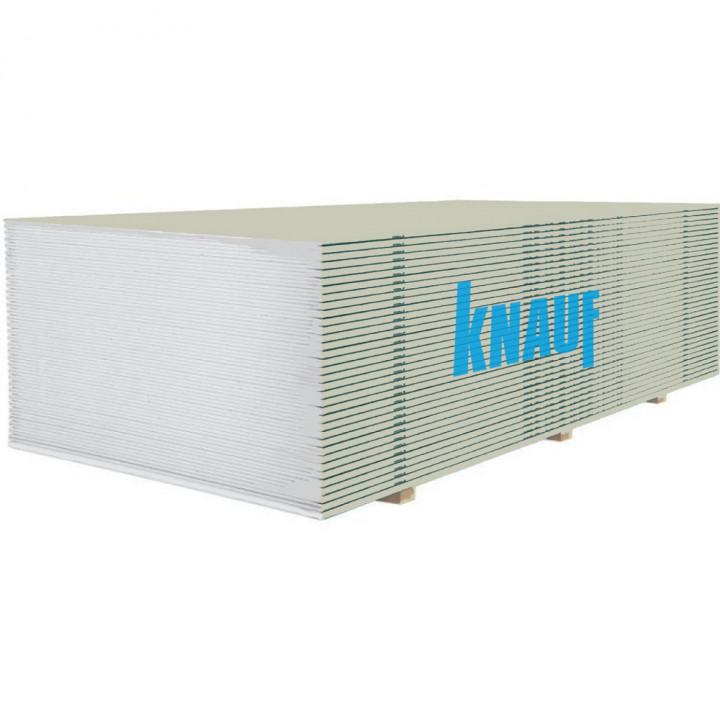 Гипсокартон KNAUF (КНАУФ) (12,5 мм/3м)