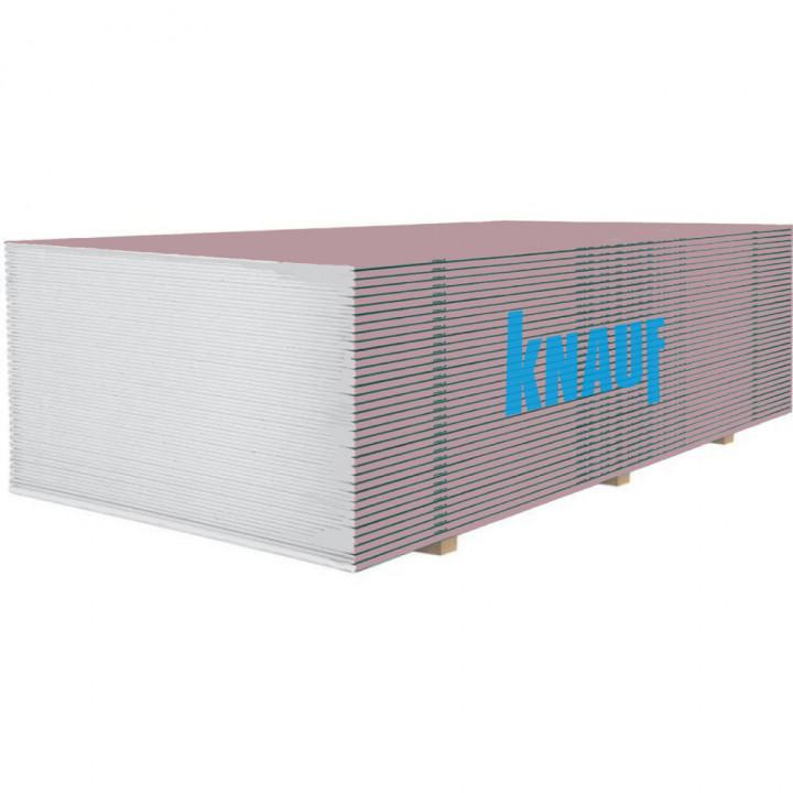 Гіпсокартон вогнестійкий KNAUF (12,5мм/2,5м)