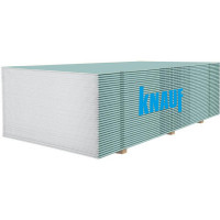 Гипсокартон влагостойкий KNAUF (12,5мм/2,5м)