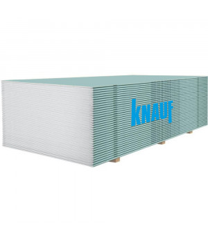 Гипсокартон влагостойкий KNAUF (12,5мм/2м)