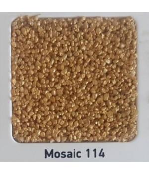 Штукатурка мозаичная SILTEK Decor Mosaic 114 (25 кг.)