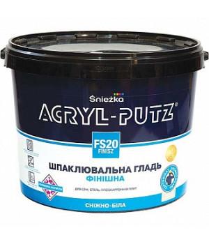 Шпаклевка финишная Снежка Acryl-Putz (17кг)