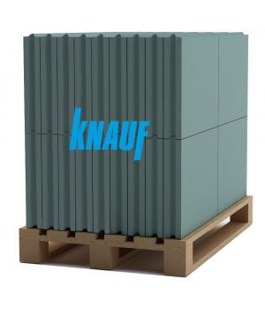 Гипсовая пазогребневая плита влагостойкая KNAUF (КНАУФ) (666*500*80мм)