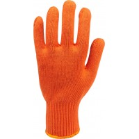 Перчатки Х/Б (оранжевые)