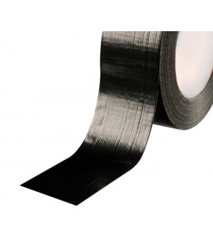 Скотч армированный черный 50мм*25м