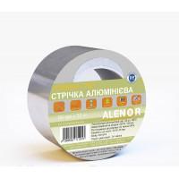 Скотч алюминиевый AL+PET ALENOR 100мм*50м