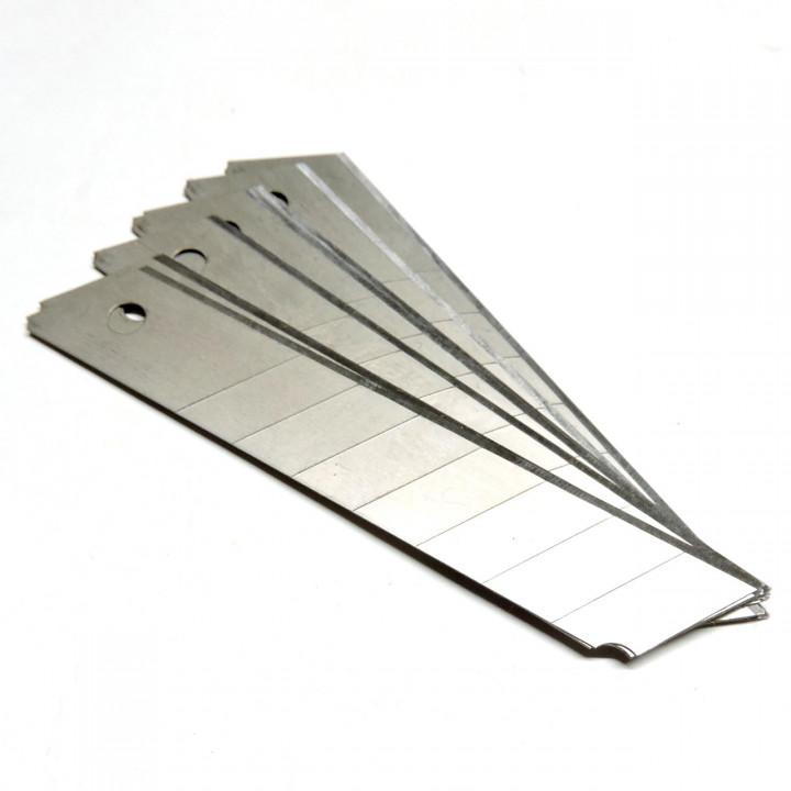 Лезвие ножа 18мм (10шт)