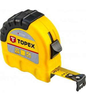 Рулетка TOPEX стальная лента 10м*25 мм (27C310)