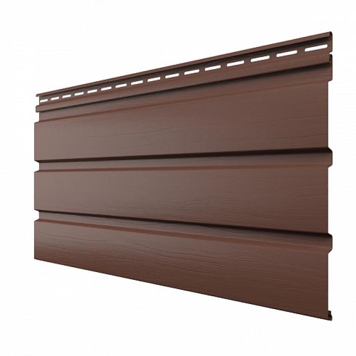 Панель софит (без перфорации/коричневая/310мм*3000мм) Технониколь
