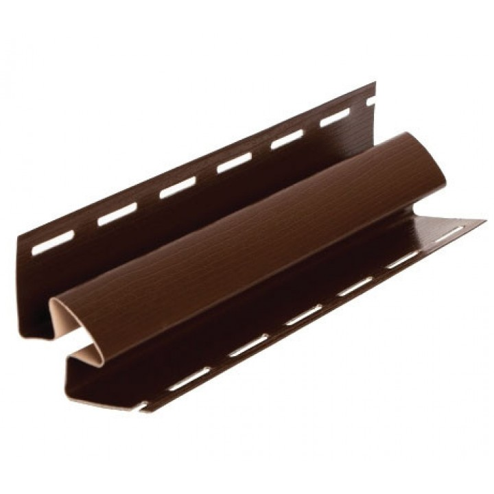Планка FaSiding угол внутренний (коричневый)