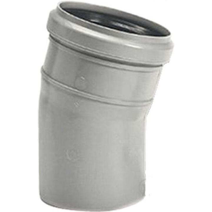 Колено канализационное WAVIN 110*15