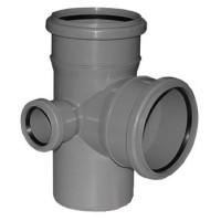 Крестовина канализационная 110*110*50 (ВР/правая)