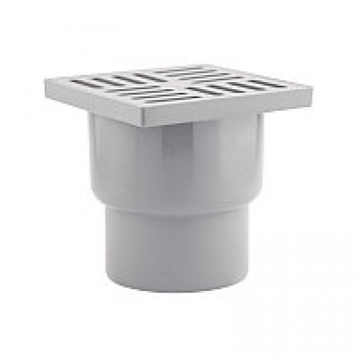 Трап канализационный 110 15х15 прямой