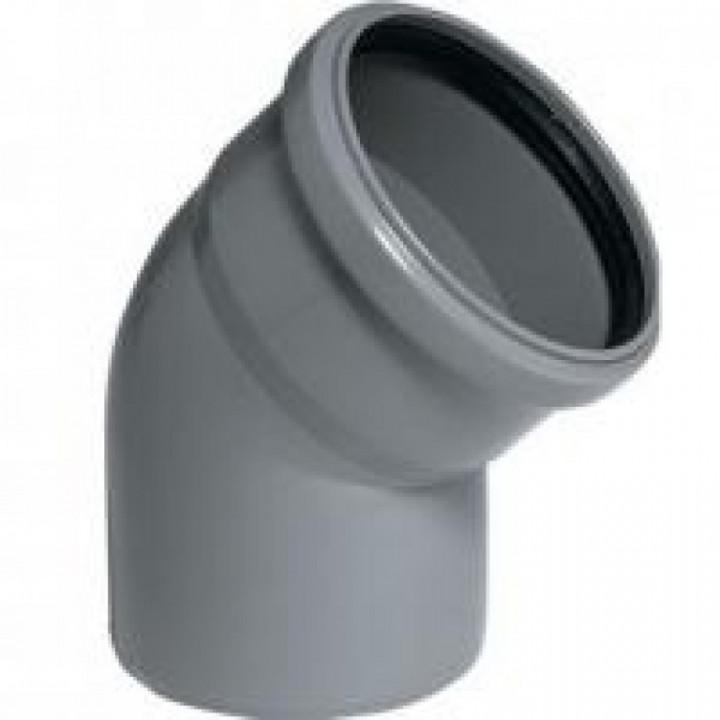 Колено канализационное WAVIN 110*45