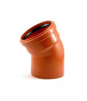 Колено канализационное 110/30 (наружное)