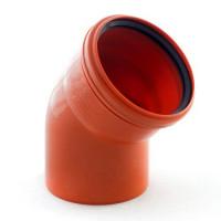 Колено канализационное 200/45 (наружное)