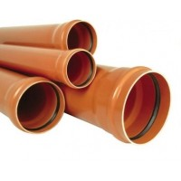 Труба канализационная 110/1000 (2,7мм) (наружная)