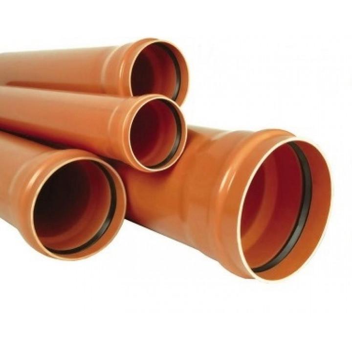 Труба канализационная 160/1000 (3,2мм) (наружная)