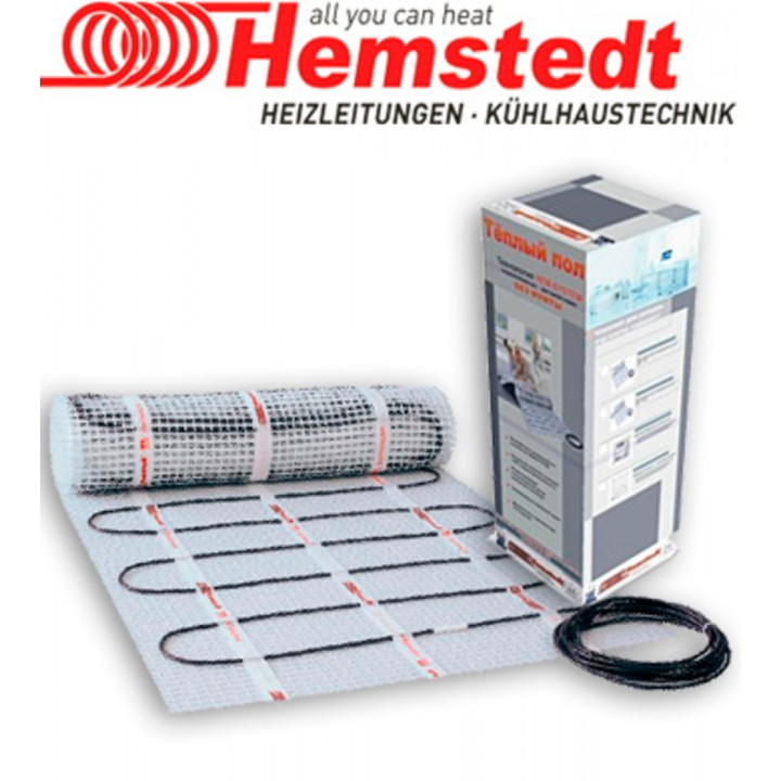 Нагревательный мат Hemstedt 600W (4м.кв.)