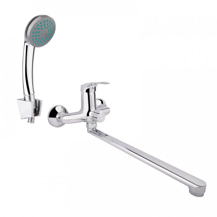 Смеситель для ванны Lidz LOP7-A48 (CRM)-163700500