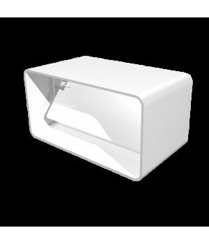 Соединитель прямоугольных воздуховодов с обратным клапаном Омис (60х120)