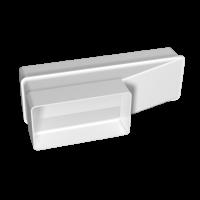 Соединитель эксцентриковый плоского воздуховода с плоским Омис (55х110/60х204)