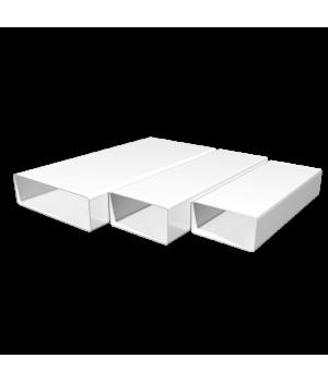 Повітропровід прямокутний ПВХ Оміс (60х204/L=2м)