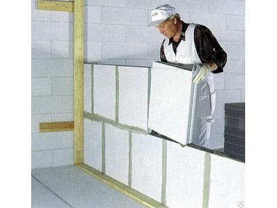 Пазогребневые плиты для перегородки стен