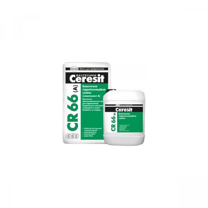 CERESIT CR-66 Эластичная гидроизоляционная смесь 25кг