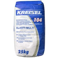 Клей для плитки эластичный Крайзель 104 (25 кг.)