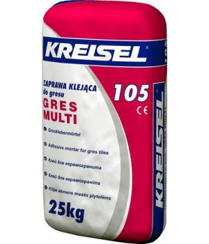Клей для керамогранита Крайзель 105 (25 кг.)