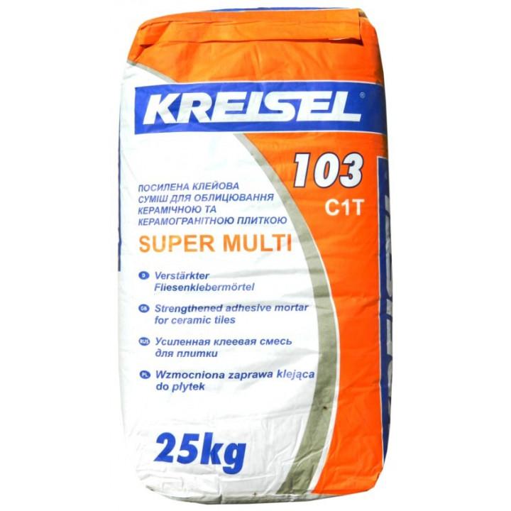 Клей для плитки супер Крайзель 103 (25 кг.)