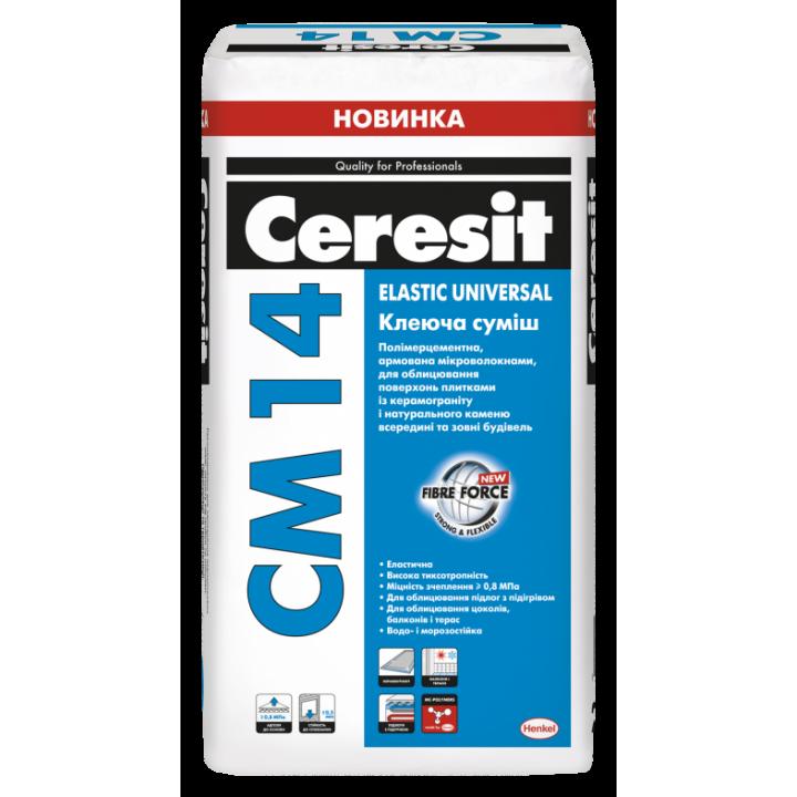 Клей для плитки CERESIT СМ-14 (25кг)