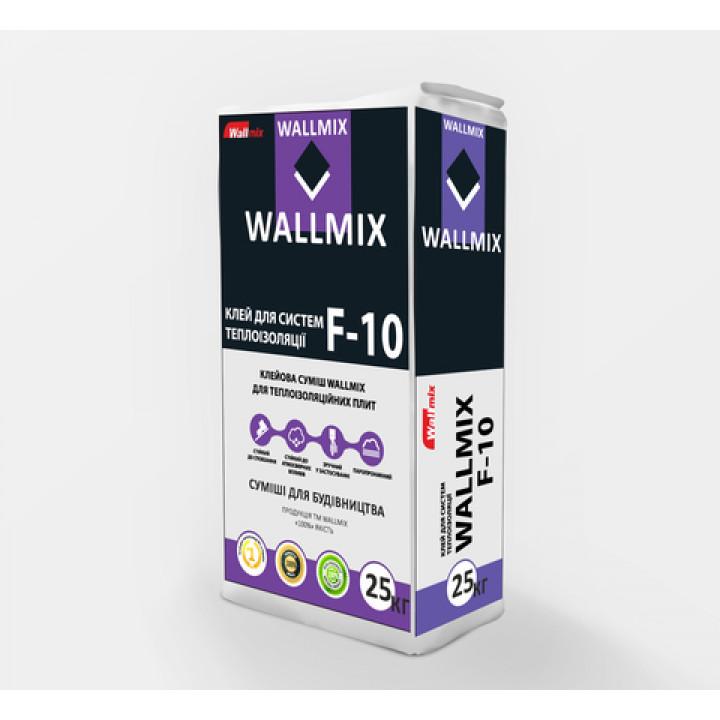 Клей для пенополистирола и минеральной ваты Wallmix F-10 (25кг)