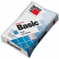Клей для плитки морозостойкий BAUMIT BASIC (25кг.)