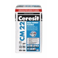 Клей для крупноформатной плитки CERESIT СМ-22 Mega Format Flex (25кг.)