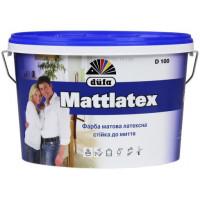 Фарба латексна матова DUFA D100 Mattlatex (14кг)
